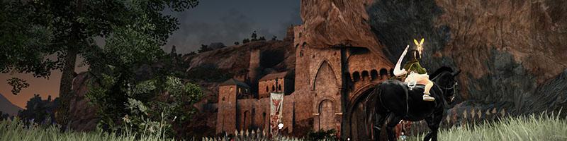 デルペ騎士団城