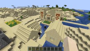 村に併設されるピラミッド